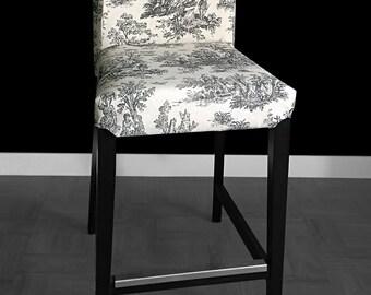 ikea bar stool cover etsy. Black Bedroom Furniture Sets. Home Design Ideas