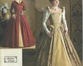 UNCUT Simplicity 3782 Misses' Elizabethan Costume Pattern SZ (14-16-18-20).