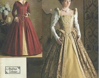 UNCUT Simplicity 3782 Misses' Elizabethan Costume Pattern Sizes 14-20