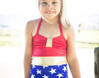 Wonder Women Bathing Suit - Infants, Toddlers, Girls