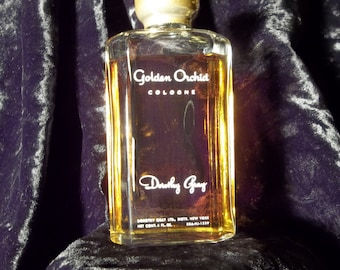 Vintage Dorothy Gray Golden Orchids fragrance from the 1930-1940 period