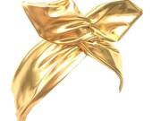 Shiny Gold Metallic wire headband