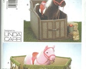 Vogue Craft Pattern 9195 Linda Carr Horse Corral and Stall Stable UNCUT