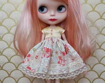 Champaigne and Flowers Blythe Dress | Pullip Dress