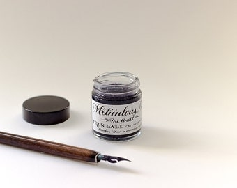 Meticulous Ink, Iron Gall Black Ink.