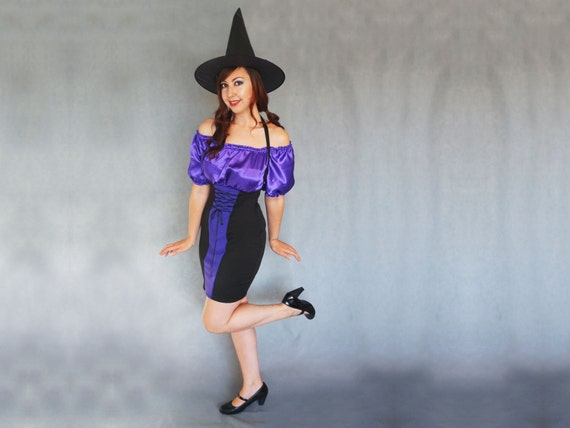 Sexy Adult Witch Costume UK