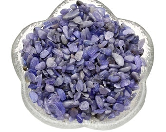 "25 Carats TANZANITE Tumbled Stones ""Baby"" Mini XXS Genuine Tanzanite Chips Semi Precious Stone Jewelry Crafts Crystal Healing & Stones #W1"