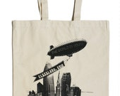 The World Is Yours Cleveland Canvas Tote