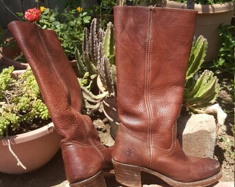 Frye's Leather Riding Boots