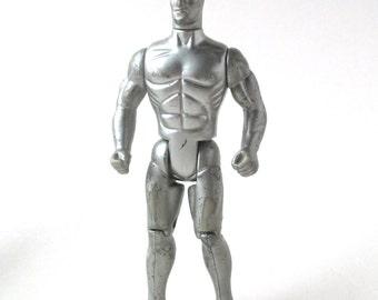 Silver Surfer Action Figure 1991, Marvel Comics, Spiderman, X-men