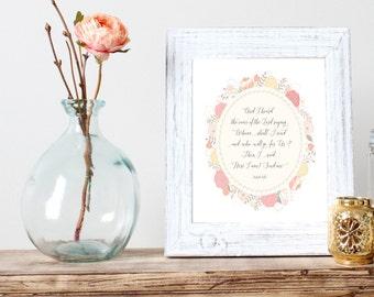 Send Me INSTANT DOWNLOAD Print | Isaiah 6 Printable Wall Art Print,  Bible Verse Print, Quote Print