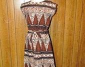 On Sale- Awesome RETRO HAWAIIAN Dress
