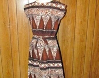 Awesome RETRO HAWAIIAN Dress