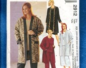 McCall's 2912 Easy Fitting Jackets Pants & Skirt Pattern Size 26W to 32W UNCUT