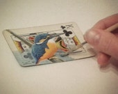 Original Art ACEO - Altered Playing Card - Custom handpainted ACEO to raise funds for children's charity