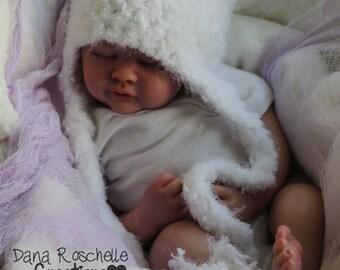 Fuzzy Bear Baby Hat, Crochet Baby Hat, girl hat, Photography Prop , newborn hat, Baby Bear Hat, Photographer Prop, baby earflap hat
