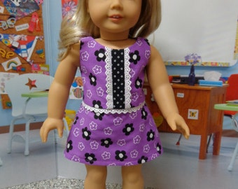 18 inch American Girl Doll Clothes - Cropped Top and Matching Skort