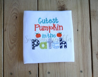 cutest pumpkin in the patch shirt, pumpkin patch shirt, kids pumpkin shirt, fall shirt, kids fall shirt, kids thanksgiving shirt, boys shirt