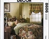Bedroom Essentials /  Original McCall's Creative Decor Uncut Sewing Pattern 8606