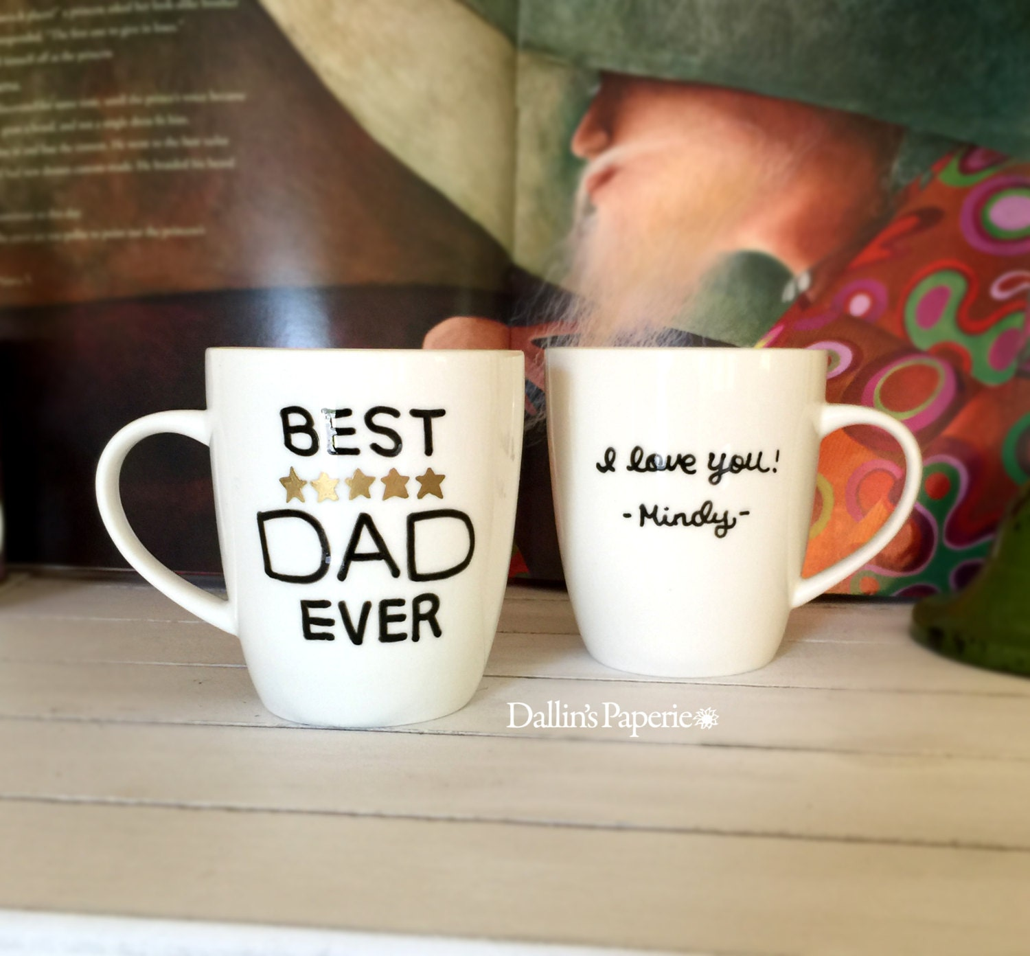 Best Dad Ever Mug Personalized Mug Father 39 S Day By