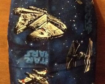Star Wars grocery bag holder