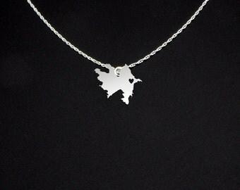 Azerbaijan Necklace - Azerbaijan Jewelry - Azerbaijan Gift