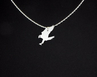 Falcon Necklace - Falcon Jewelry - Falcon Gift