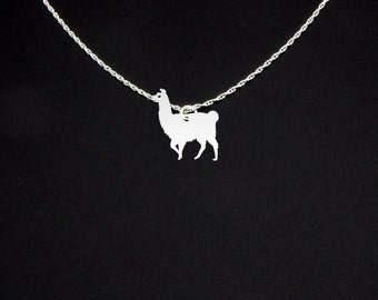 Llama Necklace - Llama Gift - Llama Jewelry