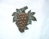Vintage Grape Bunch Door Knocker Gorgeous and Substantial