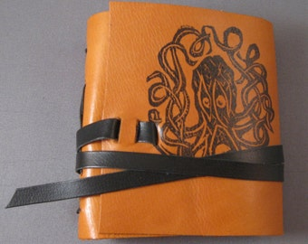 Octopus Leather Book 90 pages