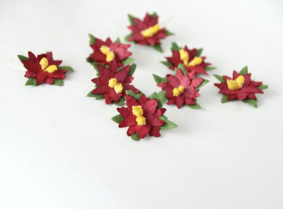 Image Result For Craft Making Poinsettia Leaves With Dyes