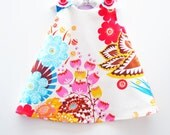 Summer Totem in Tart - Baby Dress - Toddler Dress - Newborn - Girls Dress Pattern - Nursery - Children Clothing -  Picnic - 3M to 4T