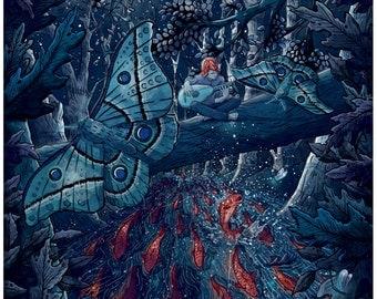 Kvothe's Legend Custom Name of the Wind Illustration Giclée Print