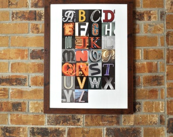 Personalized Framed Crayon Monogram By Alovelyletter On Etsy