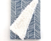 Baby Blanket Navy Freeform Arrows. The Cloud Blanket. Lovey. Faux Fur Baby Blanket. Minky Blanket. Navy Baby Blanket. Baby Boy Blanket.