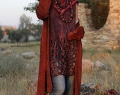 """Tunic Dress Pattern """"Gypsy Soul"""" with Instructions"""