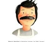 Bob Belcher from Bob's Burgers - open edition art print