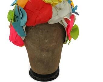 Flower Swim Cap - Rubber Flower Swim Cap - Bathing Cap - Retro Swim Cap - Ladies Swim Cap - Swimming Cap - Free Shipping - 2RTT16