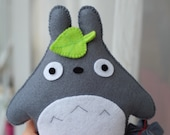 Totoro  felt stuffed toy plush plushie cute fans gift