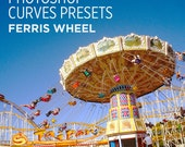 Photoshop Curves Preset - Ferris Wheel - Use as PS Resource, Color Pop for Photo Editing & More