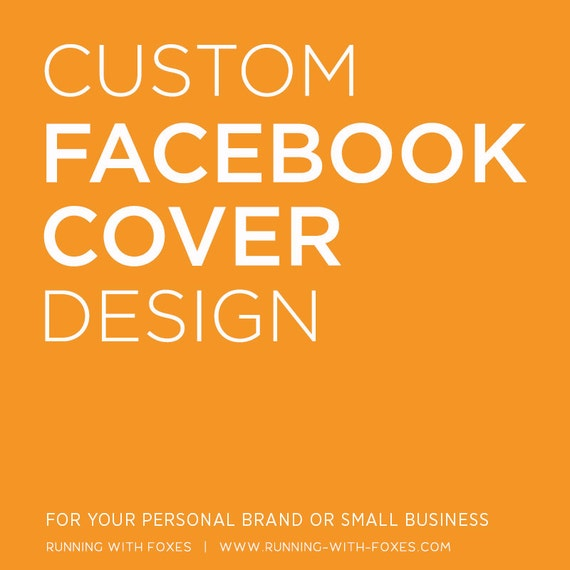 Custom Facebook Timeline Cover   Personalized Graphic Design for Facebook Business or Personal Page   Branding Header Banner