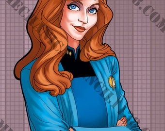 Print 38- Beverly Crusher