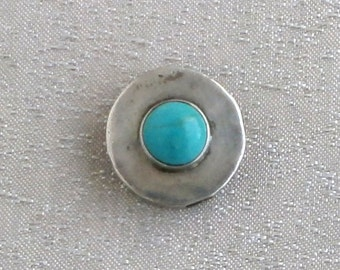 Silver - Turquoise - Pendant