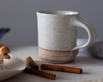 Coffee Mug: Hand thrown, handmade  by Hanselmann Pottery