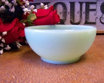Vintage Jadeite / Jadite Fire King Restaurant Ware Cereal Bowl, Chili Bowl,Soup Bowl - tithriftstore.etsy