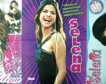 SELENA GOMEZ ~ Wizards Of Waverly Place, Love You Like A Love Song, Same Old Love, Hands To Myself ~ Color Posters fr Scrapbooking - Batch 4