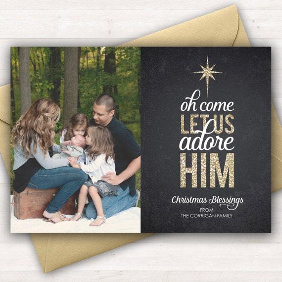 religious christmas card christian christmas cards gold glitter