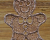 Lace Christmas Banner/Garland (Xmas Tree and Gingerbread Man)