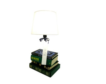 The BookLover Table Lamp - lamp, book, interior design, lighting, home & living