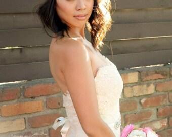 Bridal headband, crystal headband, gatspy headband, headpiece, bridal headpiece, wedding hair accessories, wedding headband